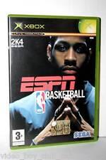 ESPN NBA BASKETBALL GIOCO USATO OTTIMO STATO XBOX EDIZIONE ITALIANA PAL