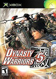 Dynasty Warriors 5 (Microsoft Xbox, 2005) TEEN FIGHTING FAST SHIPPING NTSC