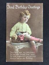 Vintage Postcard - Birthday Greetings Card - #A42 - Longsdale & Bartholomew 1920