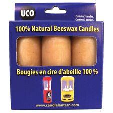 Uco Bougies Citronnelle Jaune - Paquet de 3