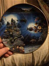 DANBURY MINT - Underwater Paradise - ' SERENITY OF WAIPIO'  Plate