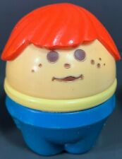 Vintage 1970s Fisher Price Shellcore CHUNKY FIGURE #04