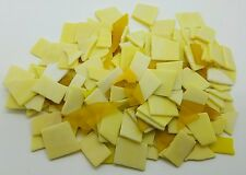 1 pound Mixed Color & size Tumbled Stained Glass Mosaic Tiles Yellows