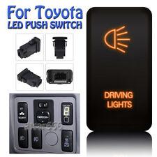 DRIVING LIGHT Orange LED Push Switch For Toyota Fortuner Hilux Tacoma 2005-2011