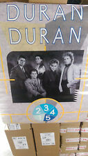 DURAN DURAN POSTER 1984 ARENA Simon Lebon Rhodes Taylor's Hungry like the wolf