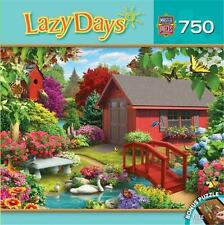 MASTERPIECES LAZY DAYS JIGSAW PUZZLE OVER THE BRIDGE ALAN GIANA 750 PCS #31693