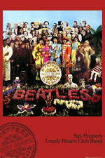 THE BEATLES - SGT. PEPPERS - 24x36 MUSIC POSTER Beatles NEW/ROLLED!