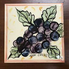Vicki Carroll Studio Trivet, Bon Appetite Grapes