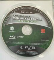 TOM CLANCY'S SPLINTER CELL TRILOGY PS3 PLAYSTATION 3 AUS PAL 3 FULL HD GAMES