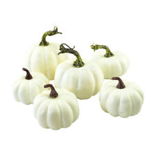 6PCS Halloween Artificial Small Pumpkin Simulation Props Garden Party Decor