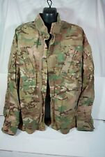 U.S.Army Multi-Camo Combat Coat Jacket Team Soldier Certified Gear Small Reg