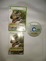 Jurassic: The Hunted (Microsoft Xbox 360, 2009) w/ Case