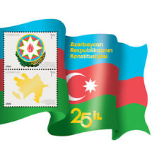 25th ann. of the Constitution of the Republic of Azerbaijan. Unusual Shape