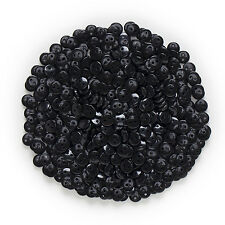 100pcs 2 hole Black Resin Buttons Sewing Scrapbooking Handwork Home Decor 9mm