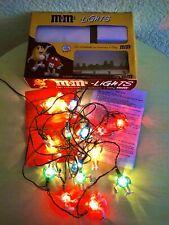 m&m, Lichterkette mit 15 Figuren, im Originalkarton mit Anleitung. Blitzversand