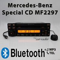 Mercedes Autoradio Special-CD MF2297 Bluetooth mit Mikrofon MP3 AUX-IN Autoradio