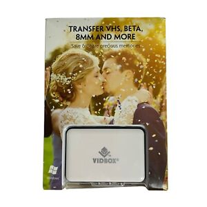 VIDBOX Video Conversion For PC Analog to Digital Video Transfer Solution