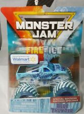 SPIN MASTER 2019 MONSTER JAM FIRE AND ICE BLUE THUNDER VHTF Walmart Exclusive