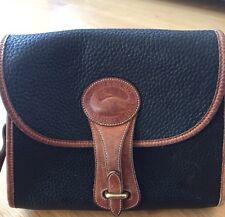 Dooney And Bourke Vintage All Weather Leather Adjustable Shoulder Bag