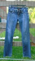 """LUCKY Brand Lil Maggie Boot Cut Stretch Jeans Womens Tag sz 4/27 seems 30""""  USA"""