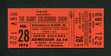 1976 Bobby Goldsboro Unused Full Concert Ticket Fresno Honey Little Green Apples