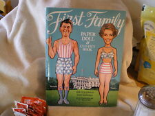 """""""First Family Paper Dolls"""", Reagans, Dell Pub, 3rd Edition, 1982"""