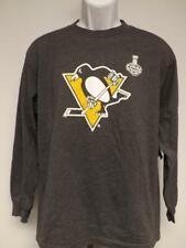 New Pittsburgh Penguins Mens Sizes M-L-XL Grey GIII Shirt