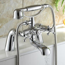 Victorian Design Bathroom Bath Shower Filler Mixer Tap with Chrome wiht Handset