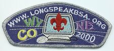 CSP - LONGS PEAK COUNCIL - SA-11 - 2000 - WWW-LONGSPEAKBSA-ORG
