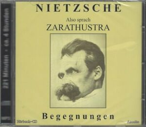 Nietzsche: Also sprach Zarathustra - Begegnungen - Hörbuch CD, Klaus-Jürgen Mad
