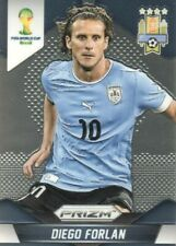 Diego Forlan Uruguay World Cup Panini 2014 Prizm Soccer Card