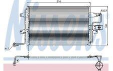 NISSENS Condensador, aire acondicionado VOLKSWAGEN GOLF SEAT AUDI A3 94310