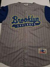 Brooklyn Cyclones JERSEY New York Mets Sz. XLarge XL USED NICE MUST SEE!!