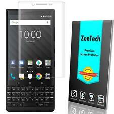 2X BlackBerry KEY2 - ZenTech Clear FULL COVER Screen Protector Guard Shield Film