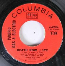 Rock 45 Pacific Gas & Electric - Death Row # 172 / The Time Has Come (To Make Yo