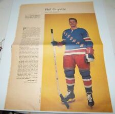 Phil Goyette # 9 Weekend  Magazine Photos 1963-64  Toronto Star lot 4