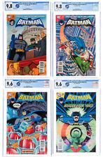 BATMAN BRAVE AND THE BOLD LOT OF 5 COMICS #3 12 17 18 21 CGC 9.8 9.6 TOP GRADE!