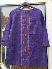 Gudrun Sjoden   Cotton Tunic/ Top  S ( New)