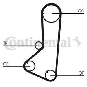 Original CONTINENTAL CTAM Timing Belt CT802 for Hyundai Mitsubishi