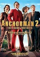 Anchorman 2: The Legend Continues (DVD, 2014, Canadian) DISC IS MINT