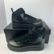 low priced 5f986 2e16f Nike Air Force 1 Foamposite Cup Men s Triple Black AF1 Casual AH6771-001