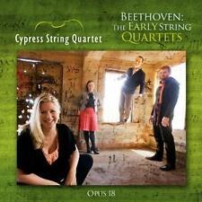D-CD 2016 Beethoven Frühe Streichquartette / CYPRESS STRING QUARTET verschweißt