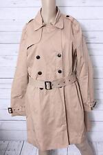 ESPRIT Damen Trenchcoat Mantel, Gr. 42, Beige