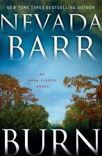 Burn: An Anna Pigeon Novel-ExLibrary