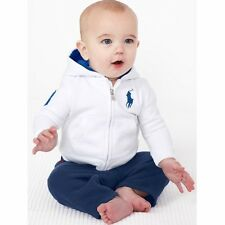 2pcs Baby Boys Casual Cotton Hoodies Coat Long Pant Toddler Clothes Set Outfits
