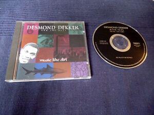 CD Desmond Dekker & The Aces - Music Like Dirt Best Of Greatest Hits King Of Ska