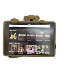 Moschino Ipad 2 Bear Tablet Case Soft Brown