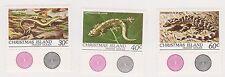 (K30-17) 1981 Christmas Island 3set wild life reptiles MUH
