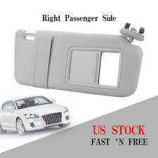 Right Passenger Sun Visor Sunshade for 2007-2011 Toyota Camry  WithOut Sunroof