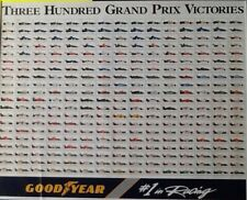 FORMULA 1 POSTER GOODYEAR FIRST 300 VICTORIES